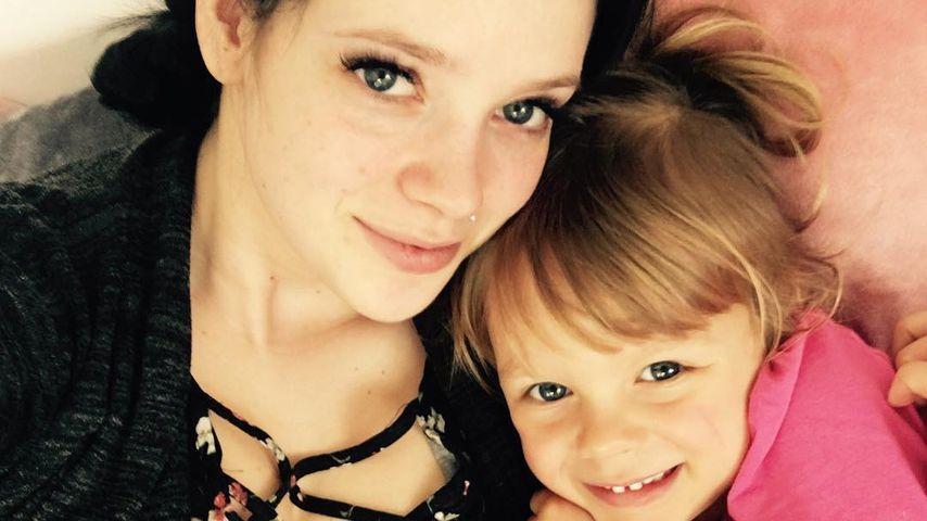 Anne Wünsche mit ihrer Tochter Miley