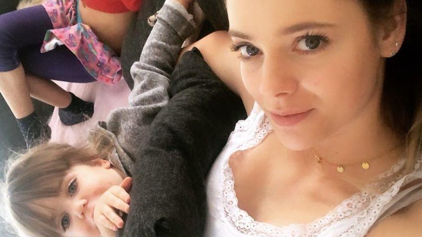 Trotz Trennung: Für ihre zwei Kids ist Anne Wünsche stark!