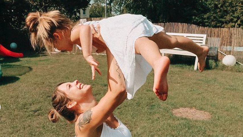 Anne Wünsche und ihre Tochter Juna
