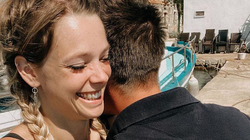 Anne Wünsche und ihr Freund Karim