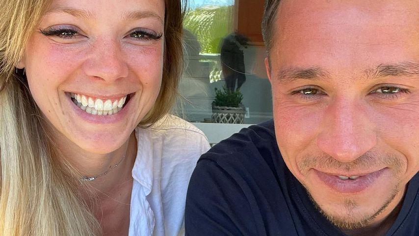 Anne Wünsche mit ihrem Karim
