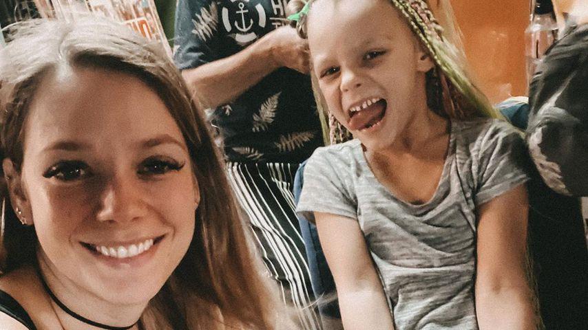 Anne Wünsche und Tochter Miley in Thailand