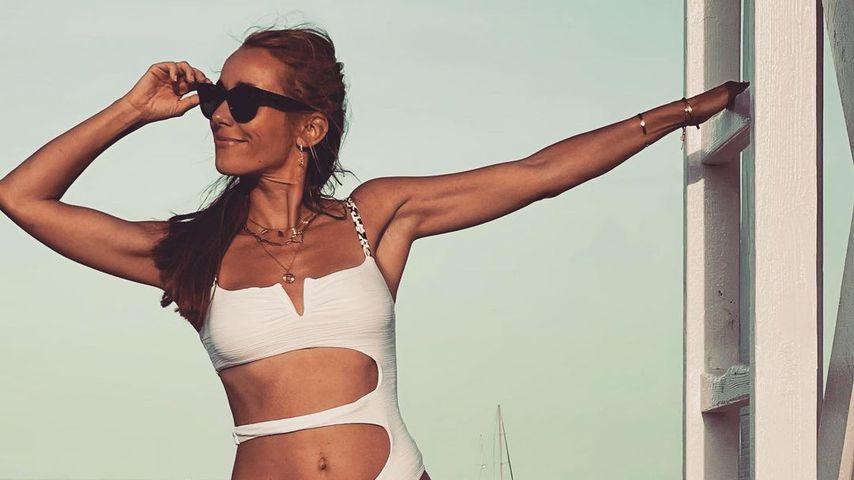 Hot Mama! Annemarie Carpendale präsentiert ihren Bikini-Body
