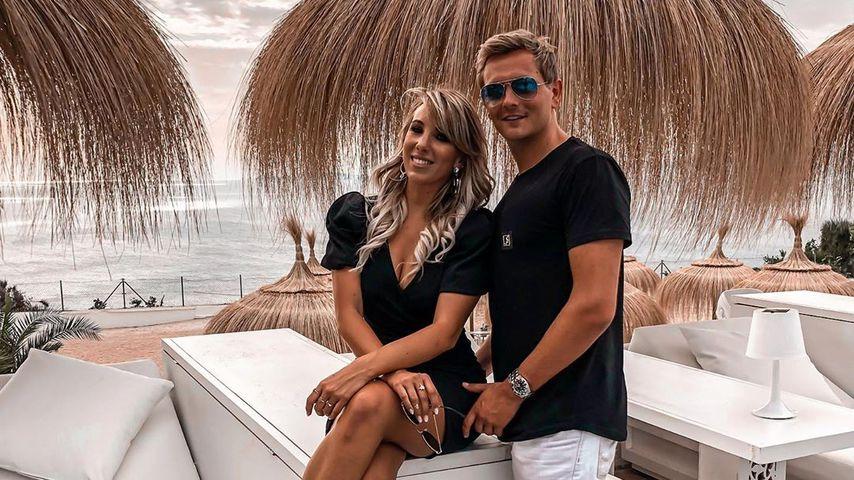Annemarie Eilfeld und Tim Sandt im September 2020 auf Mallorca