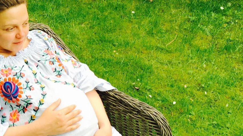 Happy Bald-Mama: Annett Louisan postet 1. Kugelbauch-Foto!