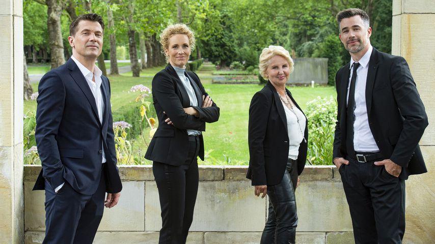 Wolfram Grandezka, Claudia Hiersche, Gabriele Metzger und Jo Weil