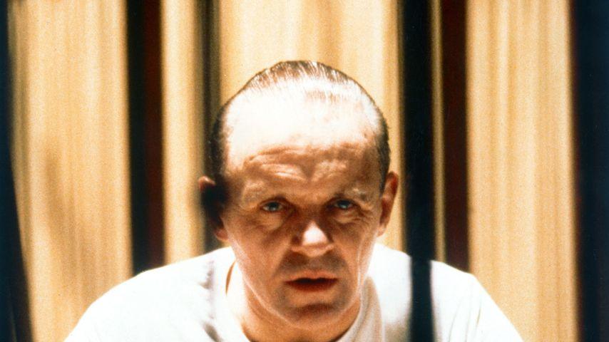 """Anthony Hopkins in """"Das Schweigen der Lämmer"""" 1991"""