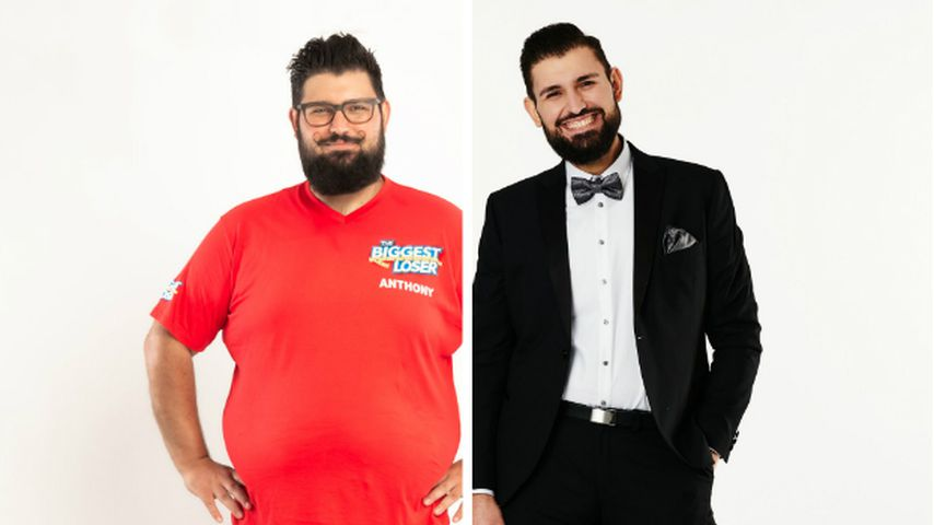 """Collage: Anthony, Kandidat bei """"The Biggest Loser"""" 2020"""
