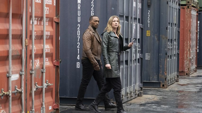"""Anthony Mackie und Emily VanCamp in """"The Falcon and the Winter Soldier"""""""