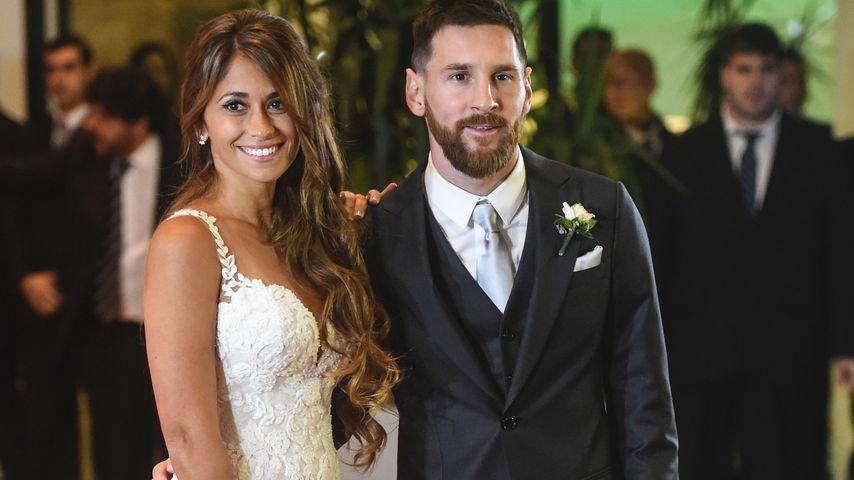 Antonella Roccuzzo und Lionel Messi