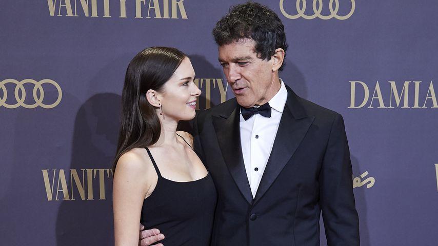 Antonio Banderas und seine Tochter Stella del Carmen im Jahr 2019