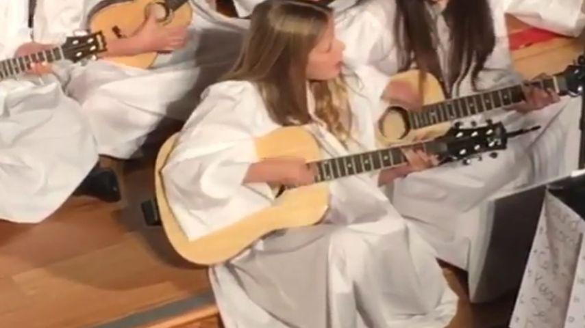 Engels-Gesang: Gwyneth Paltrows Tochter beim X-Mas-Auftritt