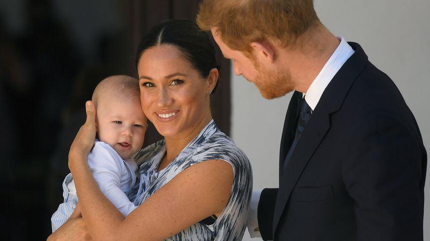 Archie Harrison mit seinen Eltern Herzogin Meghan und Prinz Harry