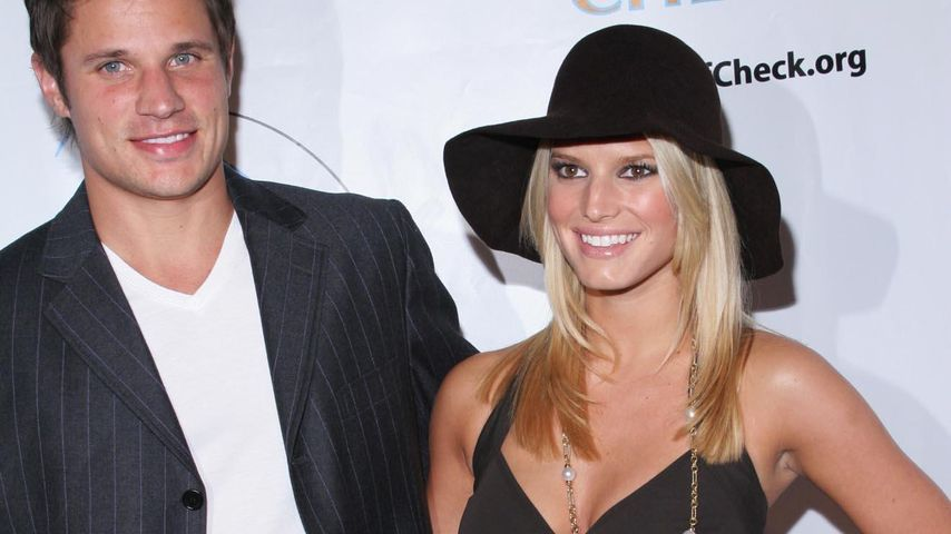 Jessica Simpson und Nick Lachey