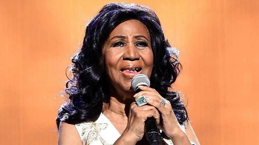 Sängerin Aretha Franklin im Jahr 2017