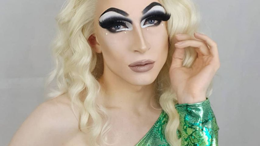 "Aria Addams,""Queen of Drags""-Kandidatin"