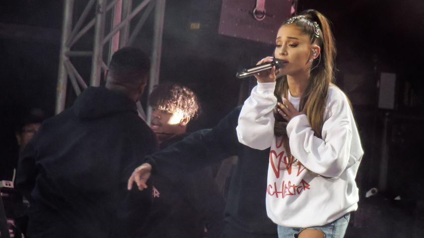 Ariana Grande beim One Love Manchester Konzert