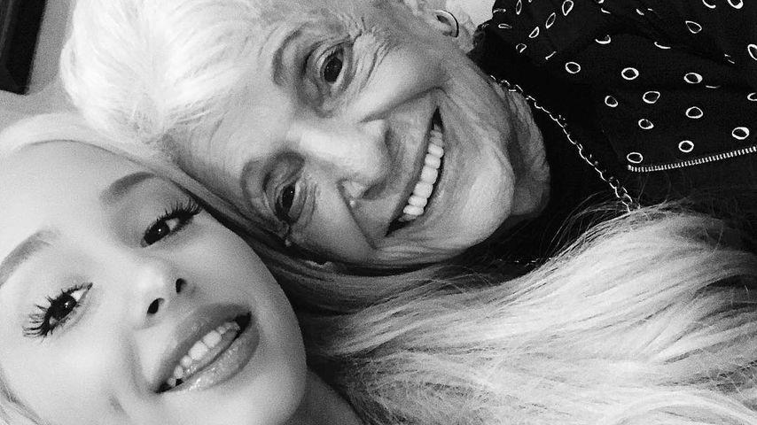Coole Omi: Ariana Grandes Großmutter lässt sich tätowieren!