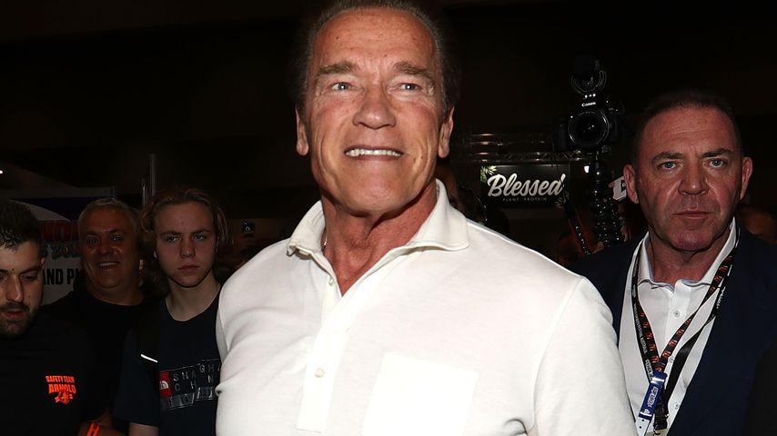 Arnie Schwarzenegger wechselt zu knieschonendem Work-out!