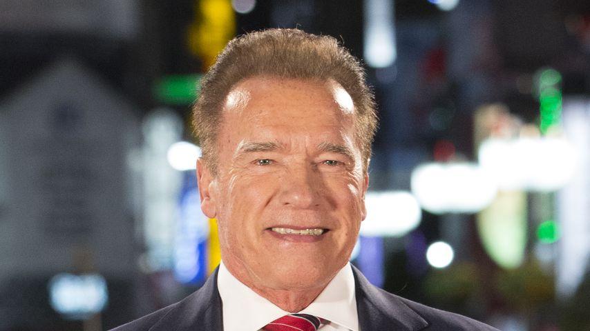 Arnold Schwarzenegger im November 2019 in Tokio