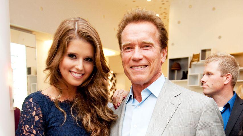 Arnold Schwarzenegger und seine Tochter Katherine bei einem Event in Los Angeles