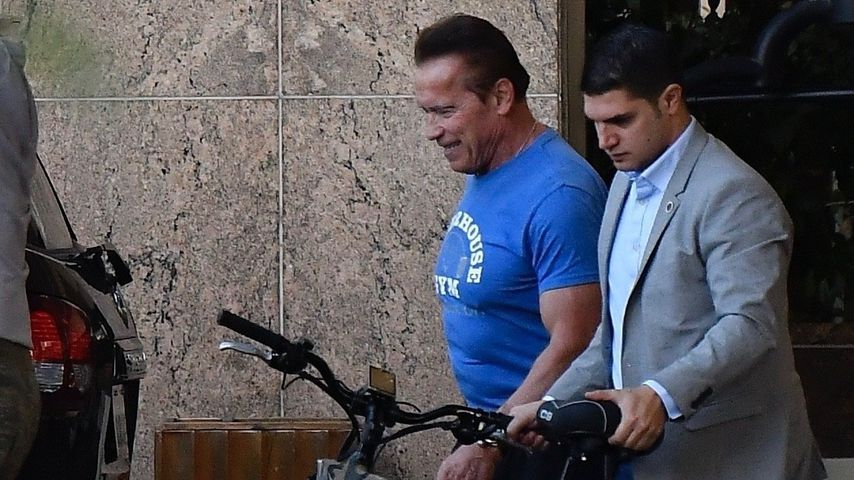 Arnold Schwarzenegger in Santa Monica im November 2019
