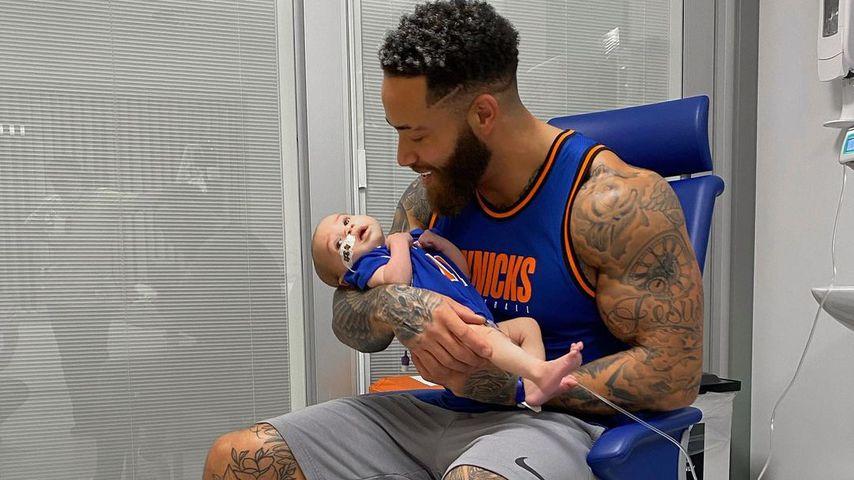 Ashley Cain mit seiner Tochter im Oktober 2020