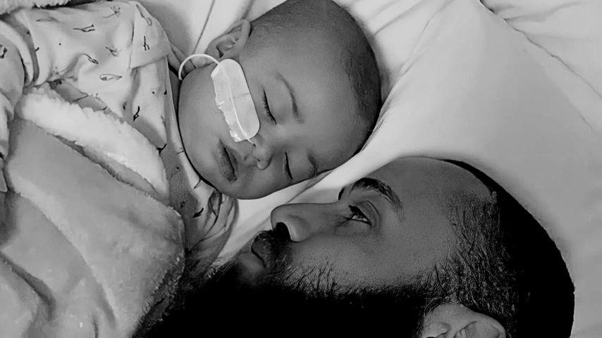 Ashley Cain mit seiner Tochter