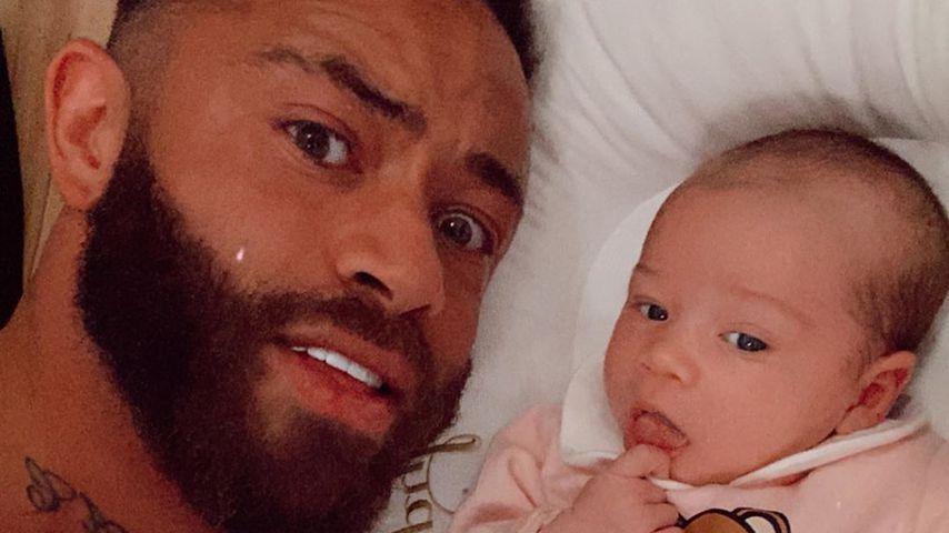 Ashley Cain und seine Tochter Azaylia