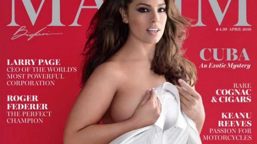 Plussize-Star Ashley Graham lässt alle Hüllen fallen!