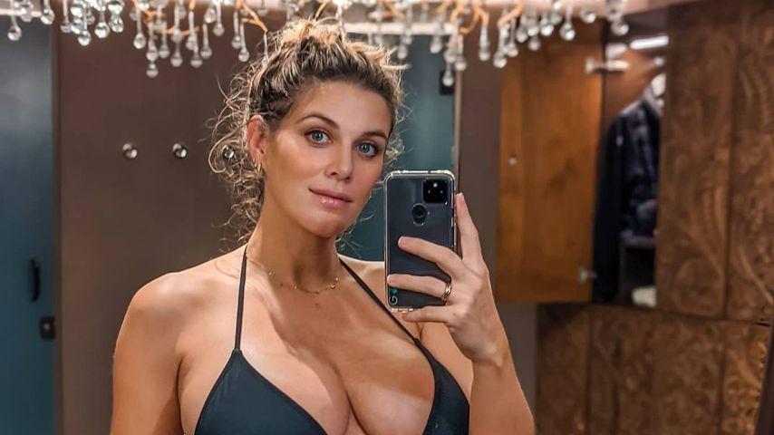 Ashley James in der 35. Schwangerschaftswoche