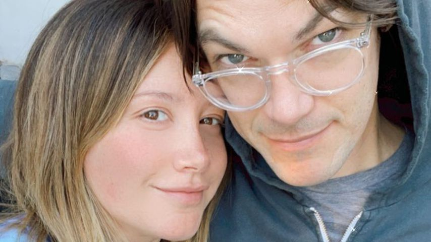 Ashley Tisdale mit ihrem Mann Christopher French