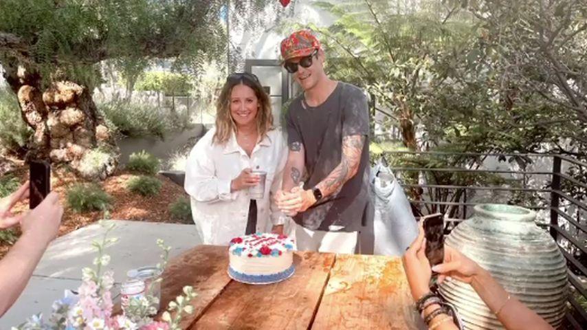 Ashley Tisdale und ihr Mann Christopher French im Juli 2021