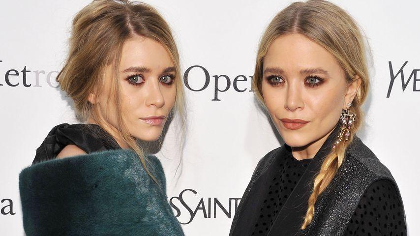"""Ashley und Mary-Kate Olsen bei der Premiere von """"Le Comte Ory"""" in NYC im März 2011"""
