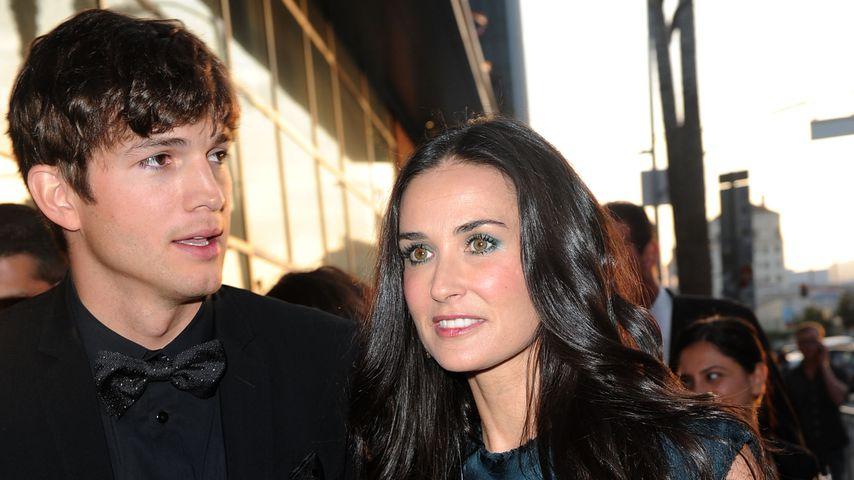 Ashton Kutcher und Demi Moore 2010 in Hollywood
