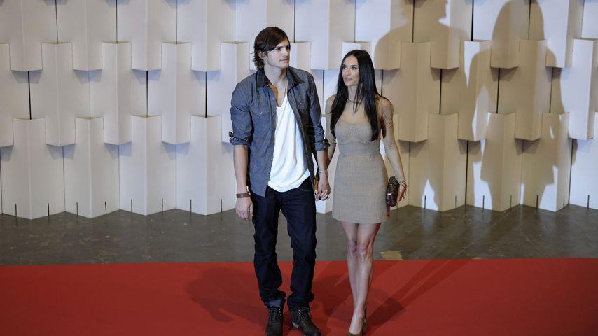 Ashton Kutcher und Demi Moore 2011