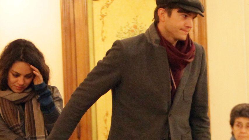 Ashton Kutcher: Erstes Weihnachten mit Mila Kunis