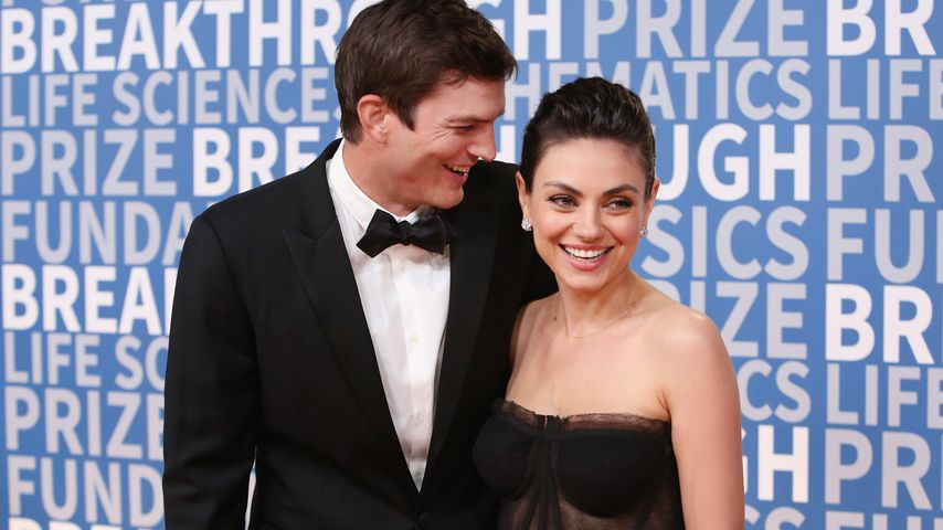 "Ashton Kutcher und Mila Kunis bei dem ""Breakthrough Prize"""