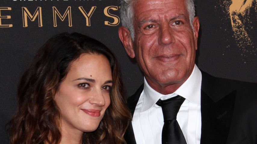 Asia Argento und Anthony Bourdain in Los Angeles 2017