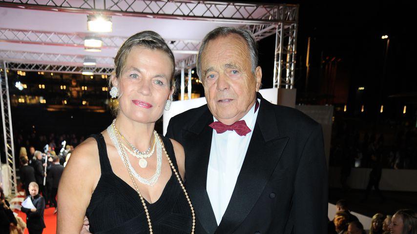 Astrid Hoeschel-Bellmann und Dieter Bellmann auf dem Leipziger Opernball 2015