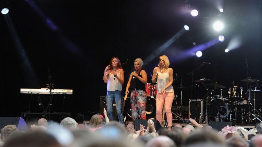 Atomic Kitten bei einem Konzert in Ascot, 2013