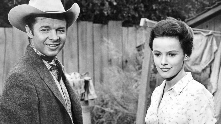 Audie Murphy und Beverley Owen, 1964