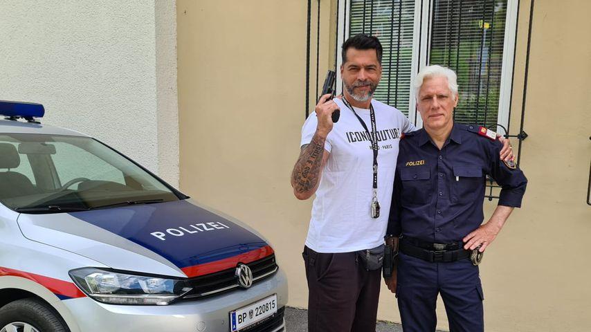 Aurelio Savina bald als Polizist in Fernsehkrimi zu sehen!