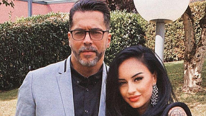 Aurelio Savina und seine Freundin Lala