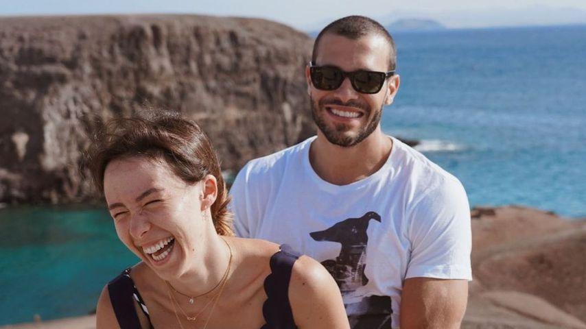 Aurora Hunziker und ihr Partner Goffredo Cerza