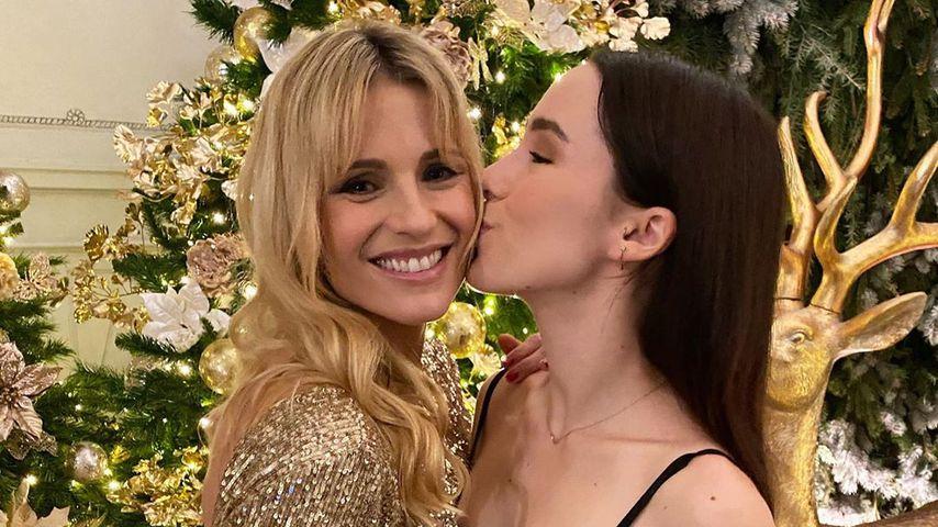 Michelle Hunziker und Tochter Aurora, Dezember 2019