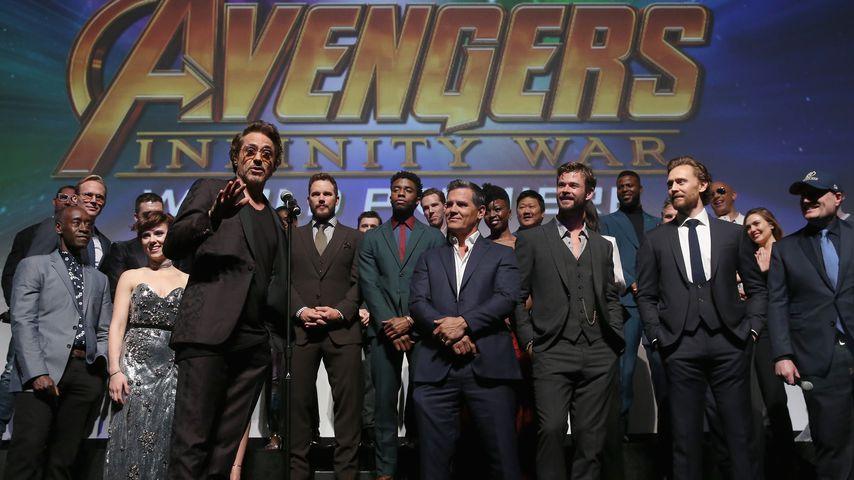 """Avengers""-Alarm! Star-Massenauflauf & süßes Pärchen-Debüt"