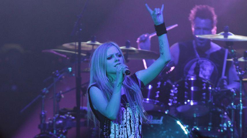 Avril Lavigne bei ihrem Konzert in Seoul