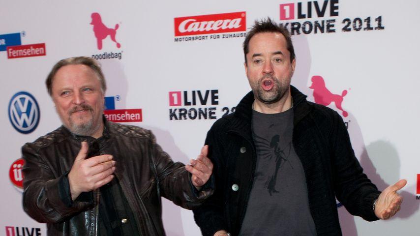 Jan Josef Liefers und Axel Prahl