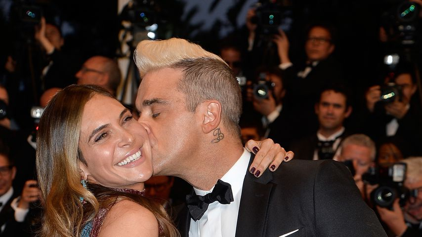 "Ayda Field und Robbie Williams bei der ""The Sea Of Trees""-Premiere 2015"